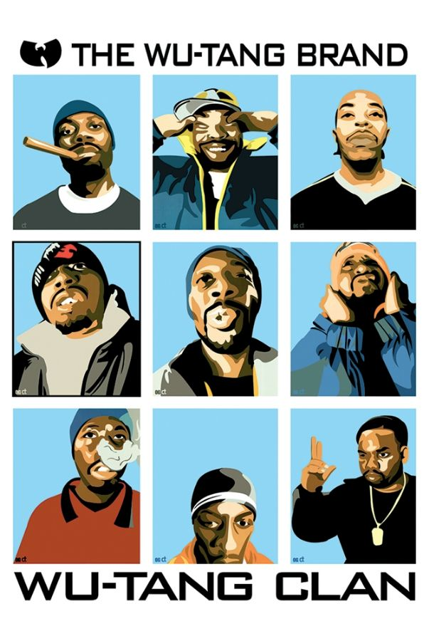 Wu-Tang Clan Poster - TshirtNow.net