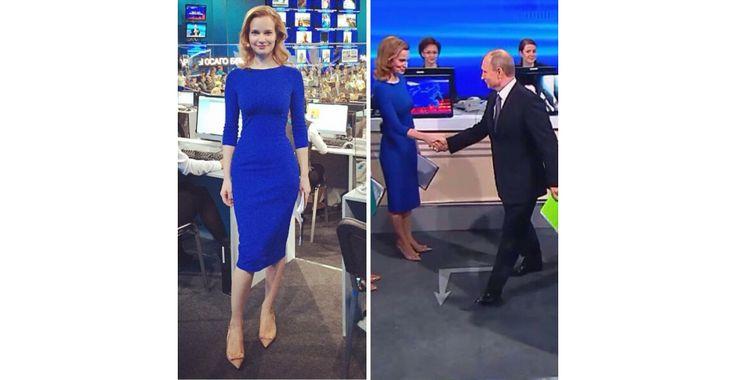 Специальный корреспондент Первого Канала Наталия Юрьева. Прямая трансляция конференции с В.В.Путиным.