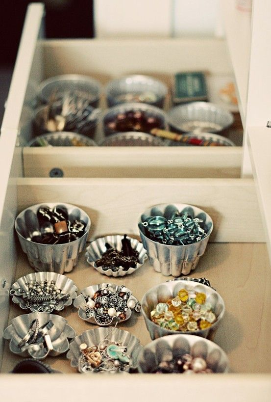 Organização ou decoração?   Casa   Pinterest   Jewelry organization, Jewellery storage and Organization