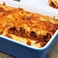 Recept : Mletou masovou směsí plněné cannelloni zapečené v sýrovém bešamelu   ReceptyOnLine.cz - kuchařka, recepty a inspirace