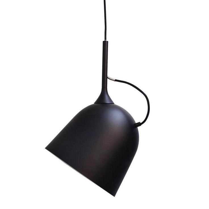 MAGNETIC - Lampa wisząca obrotowa Metal Czarny przewód czarny Ø26cm LO Editions