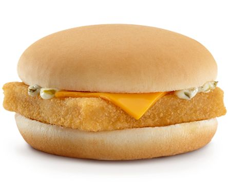 Filet-O-Fish - our daughter's favorite which is better than a burger I guess. However, it seems that GMO's are in the food chain everywhere.
