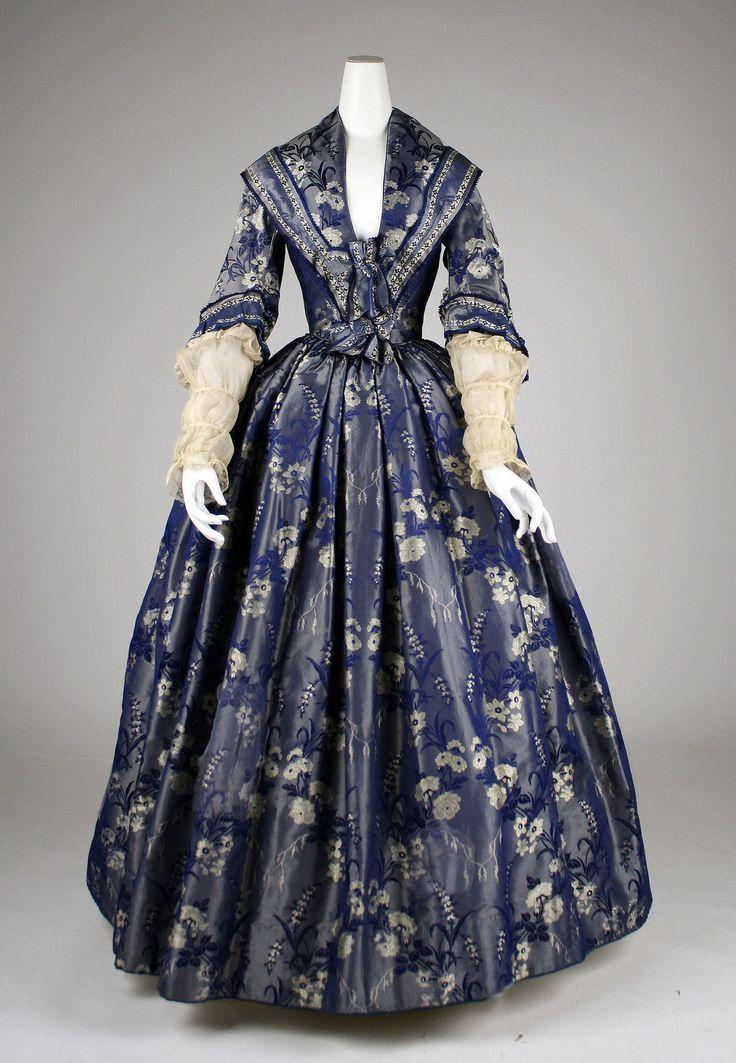 Dress 1842 The Metropolitan Museum of Art