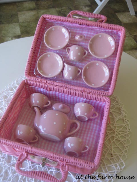 Little Pink Tea Set