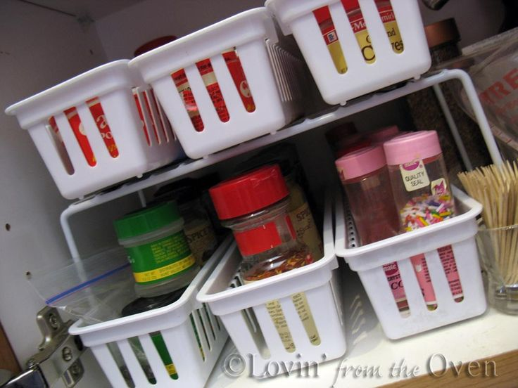 Remodelaholic | How To Build A Space-Saving Spice Cabinet