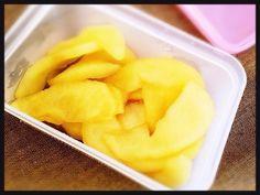 喉の痛みや、風邪による食欲不振を助けてくれます! 変色しないのでお弁当デザートにも。  2015/7 喉の人気検索一位♪