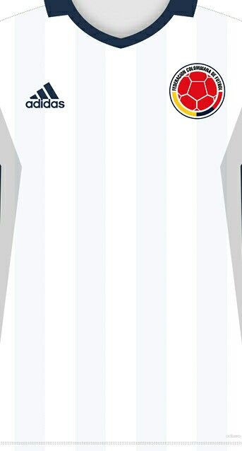 Colombia ( Copa América Centenario ) kit home