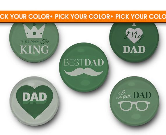 CUSTOMIZABLE Gift for Dad - Father's Day, Dad, Grandpa, Papa, Papi, Paw Paw, Pops, Grandfather, Pop, Present, Gramp, Gift, Magnet, custom    TREESAWCRAFTS.ETSY.COM