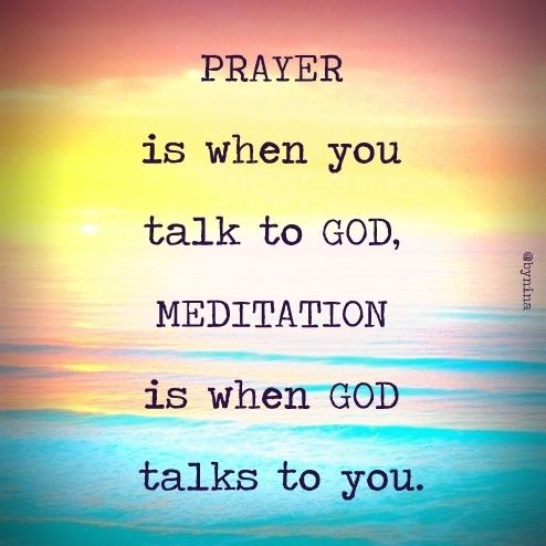 how to meet god through meditation