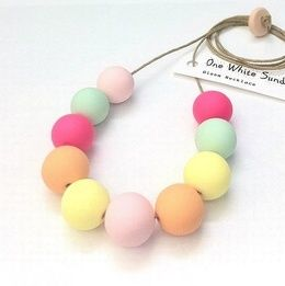 Neon and Pastel Pop Necklace