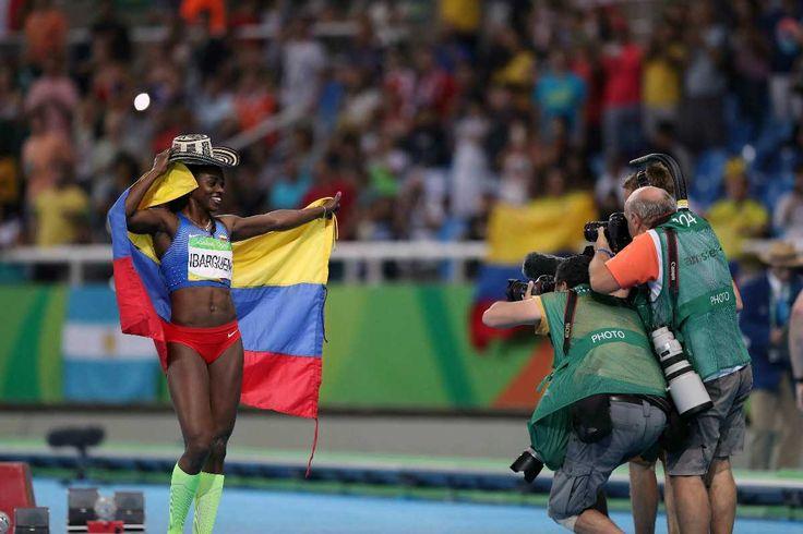 Caterine Ibargüen ganó medalla de oro para Colombia en triple salto en Río 2016…