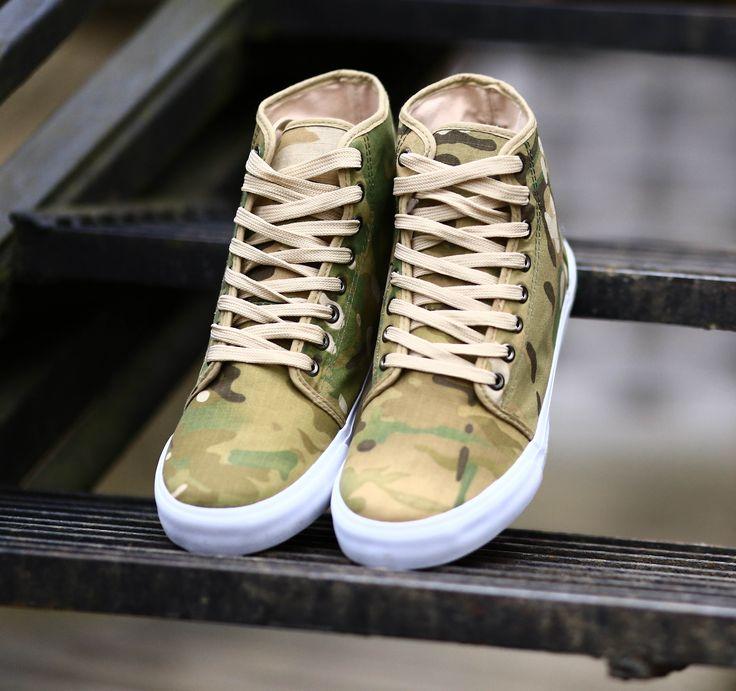 "Sneakers ""multicam"" camo"