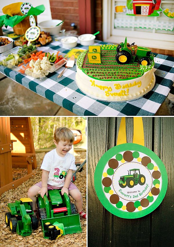 93 Best ALL BOUT PARTY IDEAS THEMES JOHN DEERE TRACTOR