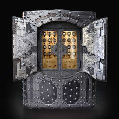 DOTTLING LEGENDS SAFE | Whether an early 20th century Wilhelminian security cabinet, a mid-19th century Napoleonic coffre-fort, or a work commissioned by the last Medici of Milan in 1740, each antique safe that leaves the Döttling workshop is an absolute one-of-a-kind piece | See more at: www.bocadolobo.com #luxurysafes #mostexpensivesafes