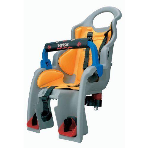 Topeak BabySeat Child Bike Seat with Aluminum Rack (Disc Mount Version). #Topeak #BabySeat #Child #Bike #Seat #with #Aluminum #Rack #(Disc #Mount #Version)