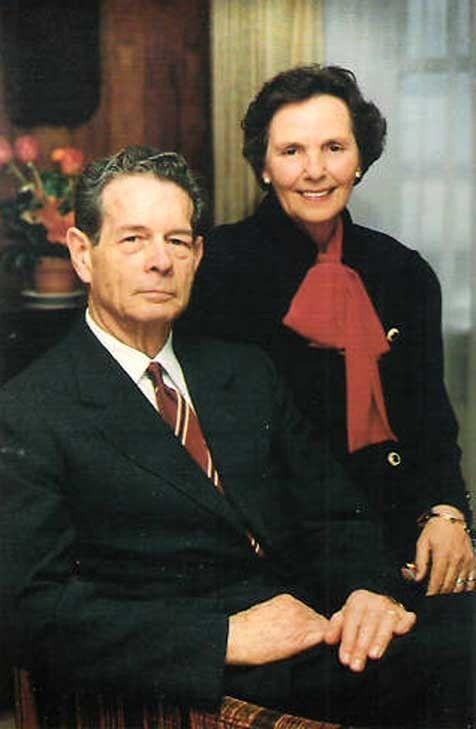 LL MM le roi Michel I et la reine Anne de Roumanie
