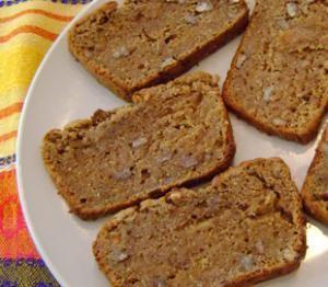 Pan de platano con Amaranto
