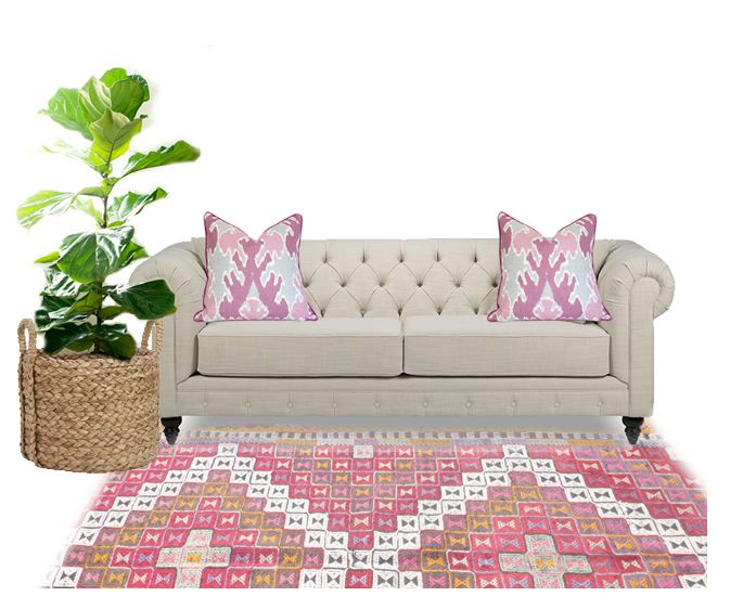 Great Styling Ideas For The TristanSofa On Lindsay Stephensons Blog