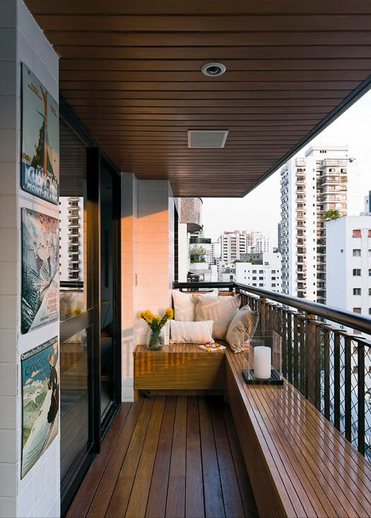 desire to inspire - would love a seating area like this around our deck.