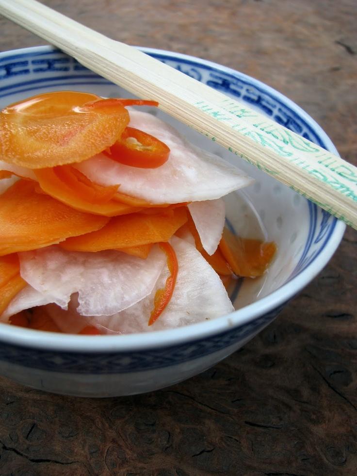 my darling lemon thyme: vietnamese pickles recipe