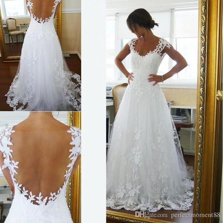 114 best Wedding dress ideas images on Pinterest | Short wedding ...