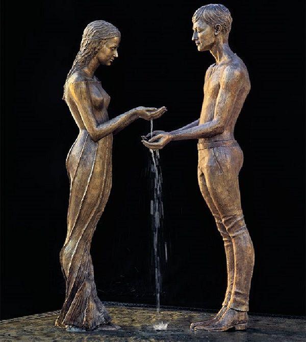 esculturas e fontes