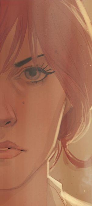 Ansel [Natasha - Phil Noto . Character Drawing Illustration]