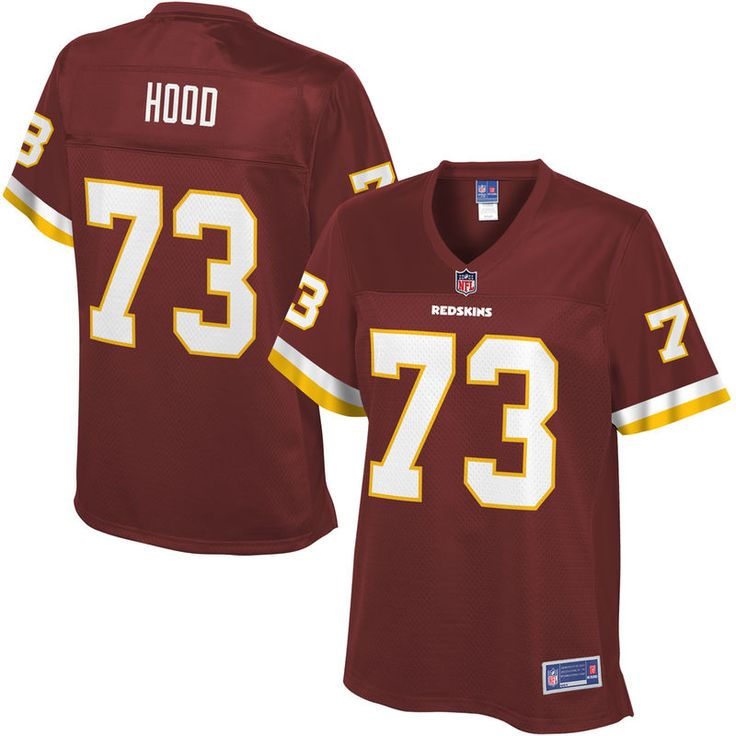 Ziggy Hood Washington Redskins NFL Pro Line Women's Player Jersey - Burgundy