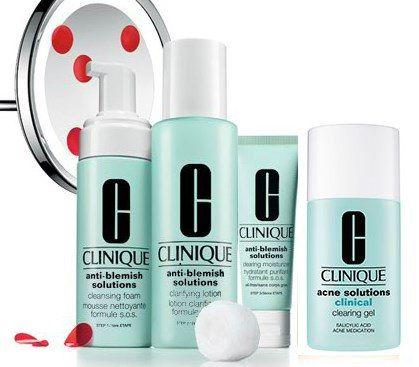 acne bouton peau grasse clinique solution