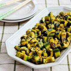 Kalyn's Kitchen®: Chinese Cucumber Salad Recipe