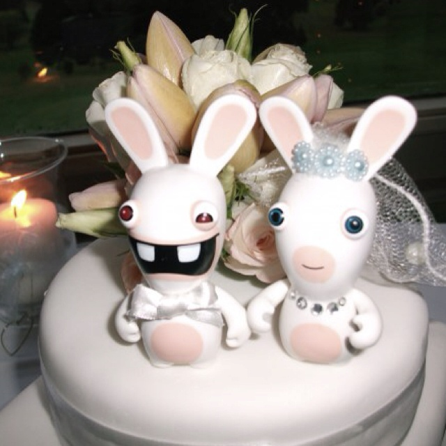 A wedding cake for Rabbids lovers!