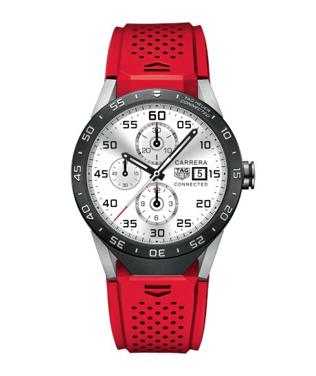 TAG Heuer Connected TAG HEUER CONNECTED IP67 splash-proof - 46 mm SAR8A80.FT6057 TAG Heuer watch price