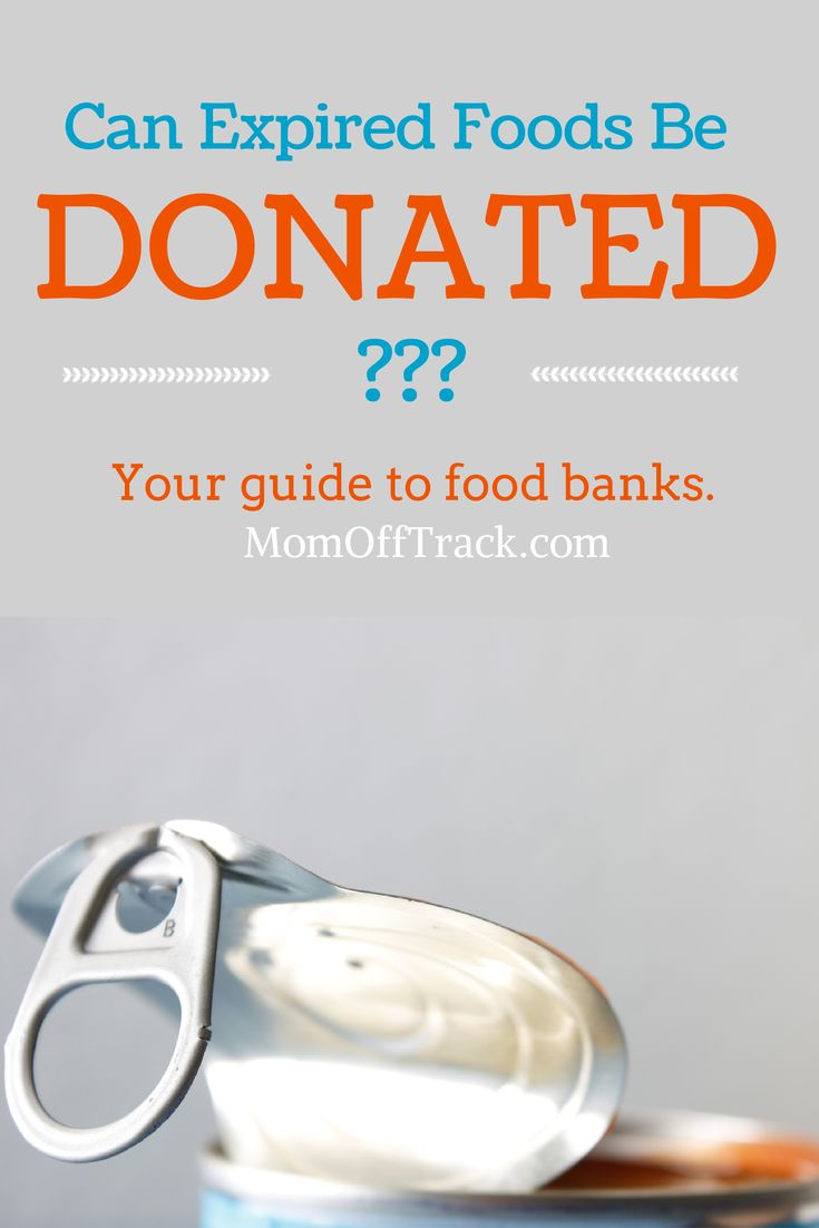 Can You Donate Expired Food To Food Bank