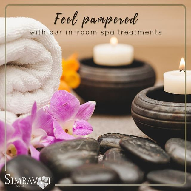 Feel pampered in the privacy of your own suite with our in-room spa treatments so the relaxation continues. . . . #Relax #Revive #Meditate #Experience #Travel #Traveling #Safari #Bush #Sunset #Simbavati