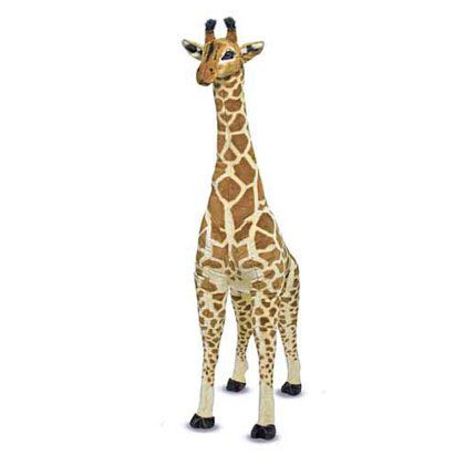 Giraffe and a Half: 5 foot tall Giraffe - I had big stuffed animals when I was growing up......