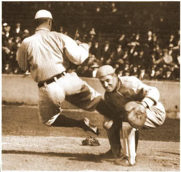 """""""Old Ty Cobb/he's dead and gone/he had a game/like a war machine"""" - Felice Brothers"""