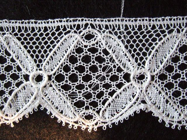 bucks point lace by guzzisue, via Flickr