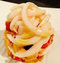 Panzanella di calamaro | Food Loft - Il sito web ufficiale di Simone Rugiati
