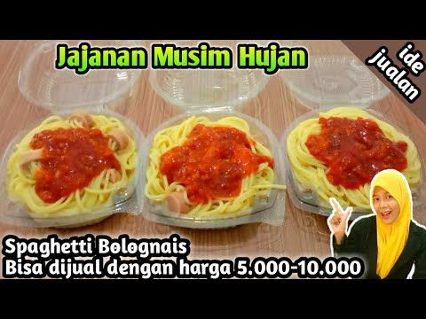 Ide Jualan Jajanan Musim Hujan Spaghetti Murah Meriah Youtube Makanan Resep Masakan Masakan