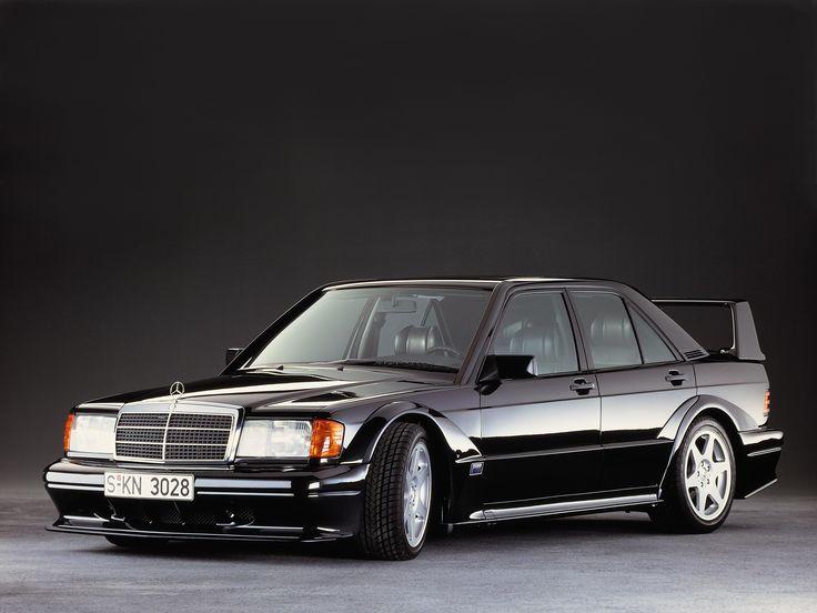 """Jubiläum: 25 Jahre Mercedes-Benz 190 E 2.5-16 Evolution II: Der """"Baby-Benz"""" als…"""
