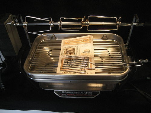 Vintage Farberware 450a Open Hearth Indoor Grill