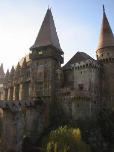 Magyar Transylvania. Dracula's castle.