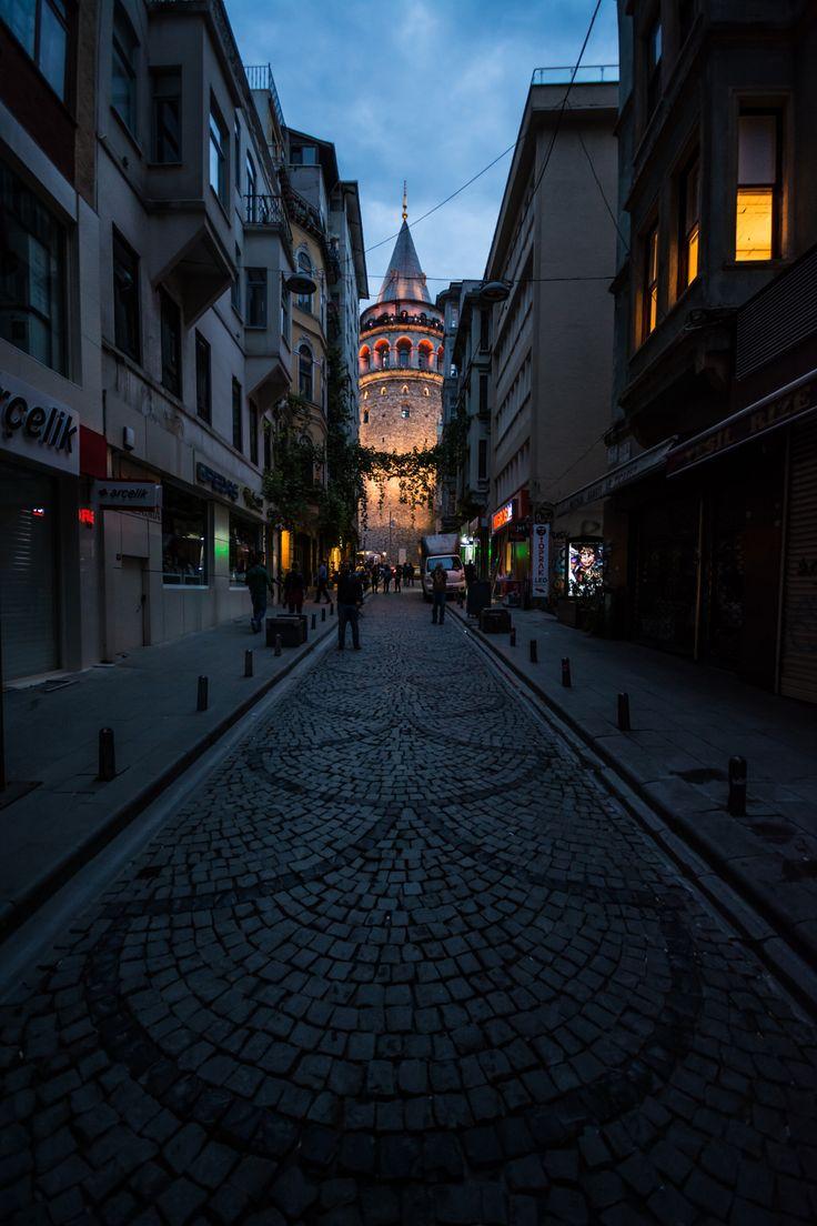 Galata Tower - Shot of Galata tower - Istanbul More at : khaled-bakkora.com