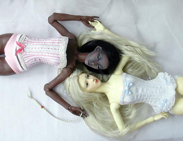 Две феи и много корсетов / Одежда, обувь, аксессуары для шарнирных кукол БЖД, BJD / Бэйбики. Куклы фото. Одежда для кукол