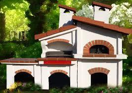 Le 25 migliori idee su forno in muratura su pinterest - Bracieri per esterno ...