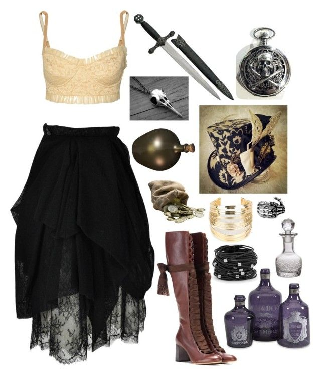 """""""Witch Doctor!"""" by drskullz on Polyvore featuring Norma Kamali, Chanel, Chloé, WithChic, Chico's, Cultural Intrigue, women's clothing, women's fashion, women and female"""