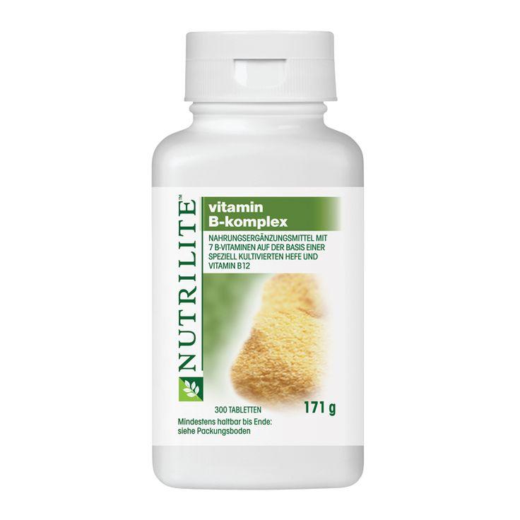 NUTRILITE™ Vitamin B Komplex Großpackung http://www.amway.de/user/manuelajo