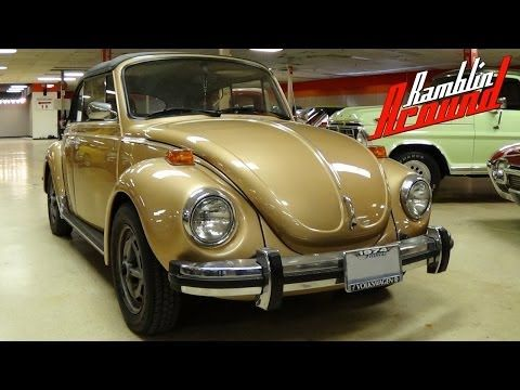 1974 Volkswagen Super Beetle Convertible Possible Rare Sun Bug Edition Vw Youtube In 2020 Beetle Convertible Vw Super Beetle Volkswagen
