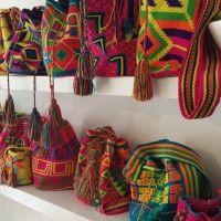 Nieuwe Wayuu Mochila tassen zijn binnen