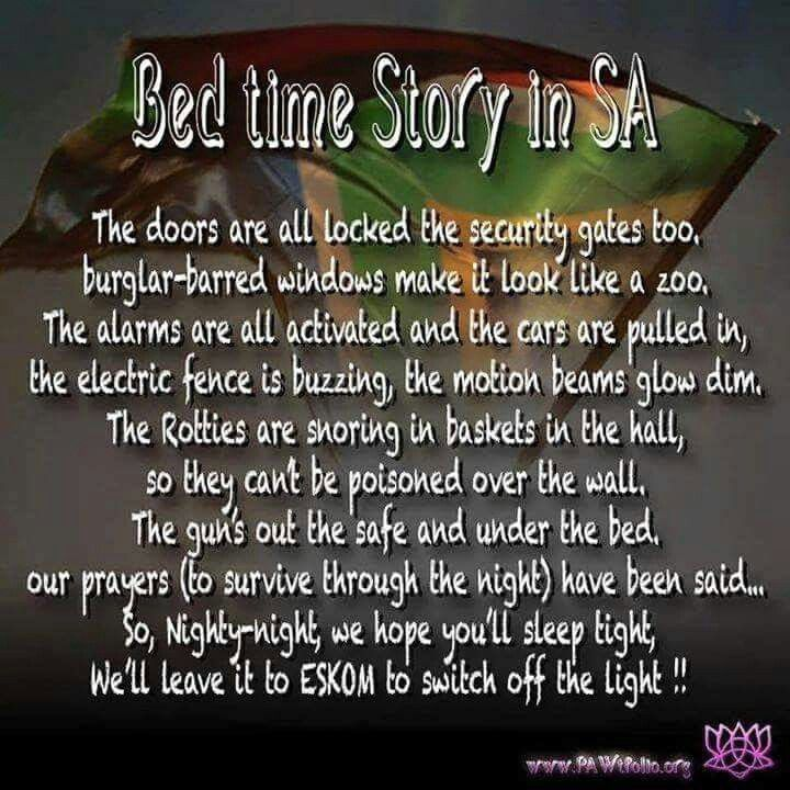 Bedtime Story in South Africa